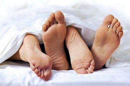 pieds amoureux - Sexualité et risque de mycose vaginale