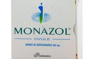 Monazol ovule antimycosique
