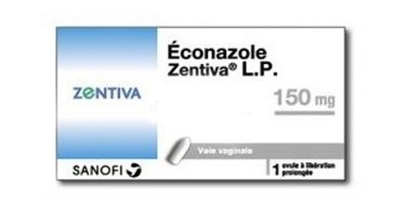 zenvita - Éconazole Zentiva LP 150 mg
