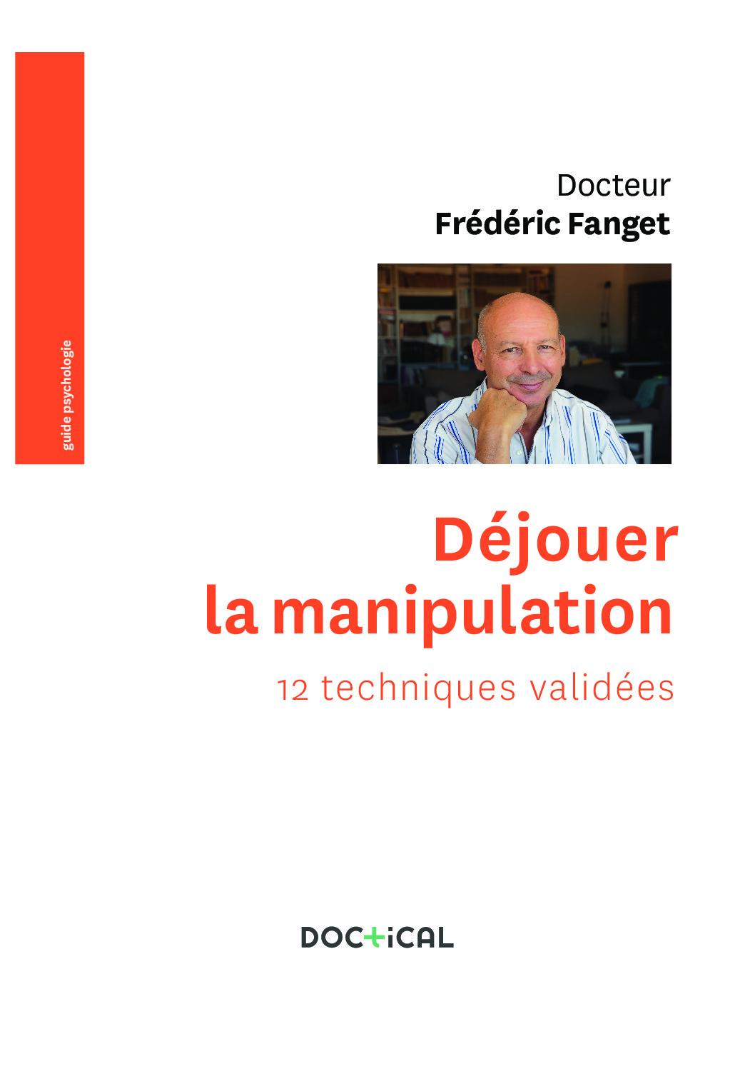 Déjouer la manipulation couv pdf - Déjouer la manipulation